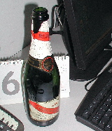 Mumm champagne at Lucid
