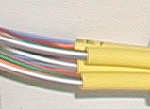 optical fibre in tubes