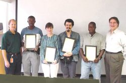 qualifications award day Angola
