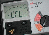 Megger 16th edition insulation tester